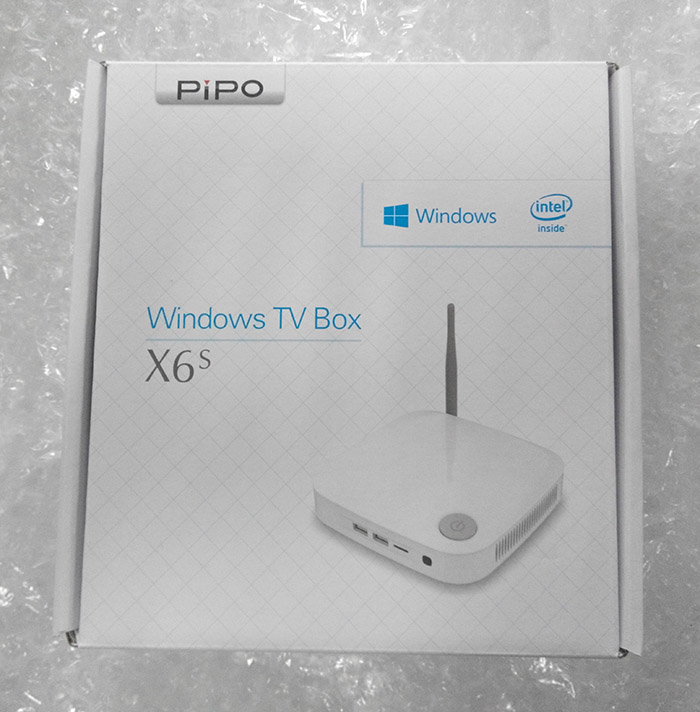 品铂新品 mini PC,windows 盒子 PIPO X6S 小主机,试用