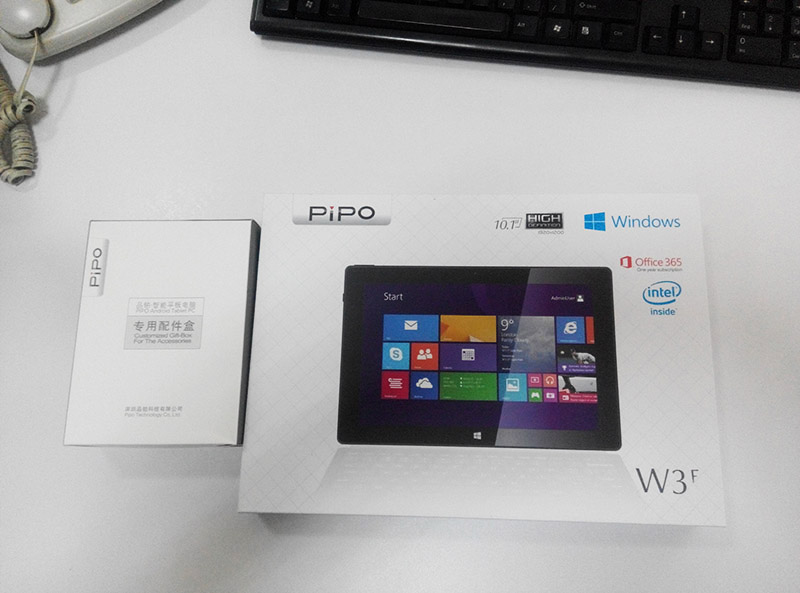 PIPO 品铂 W3F WIN8 平板电脑初体验